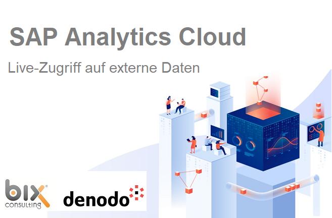 SAP Analytics Cloud – Live-Zugriff auf externe Daten